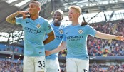 Man City run riot  over Liverpool