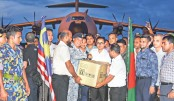 Malaysian aid for Rohingyas arrives