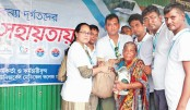 UMCH stands beside flood-hit people