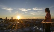 Rooftop tours offer fresh look at Saint Petersburg in Russia