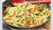 Tasty Vegetable Fried Rice