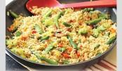 Tasty Vegetable Fried Rice