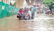 Waterlogging hits life in Ctg