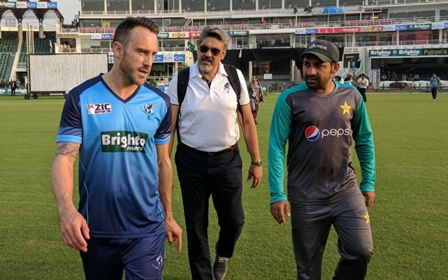 Du Plessis: Security comforts World XI on tour in Pakistan