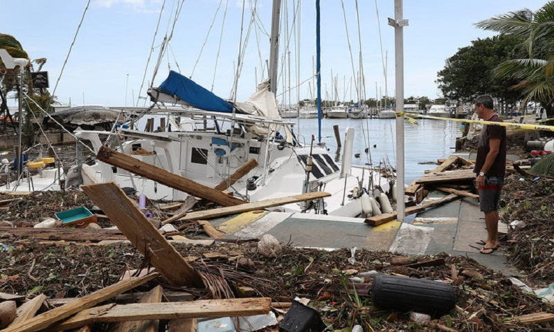 Hurricane Irma: Two-thirds of Florida without power
