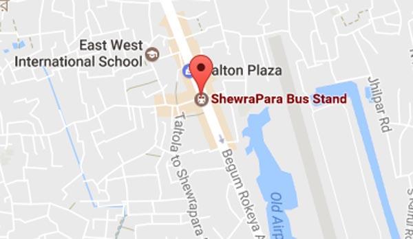 Schoolgirl killed in Shewrapara road crash