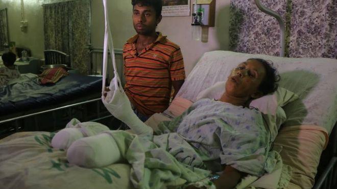 Rohingya crisis: Civilians 'maimed by landmines'