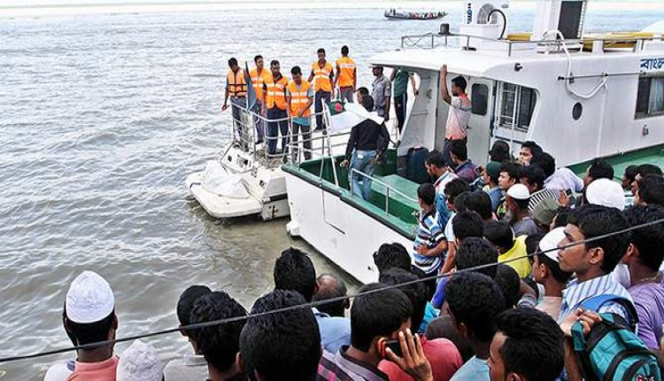 Shariatpur launches capsize: Missing staff found dead
