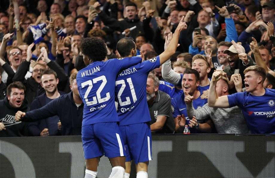 Zappacosta solo goal, Chelsea routs Qarabag 6-0 in CL opener