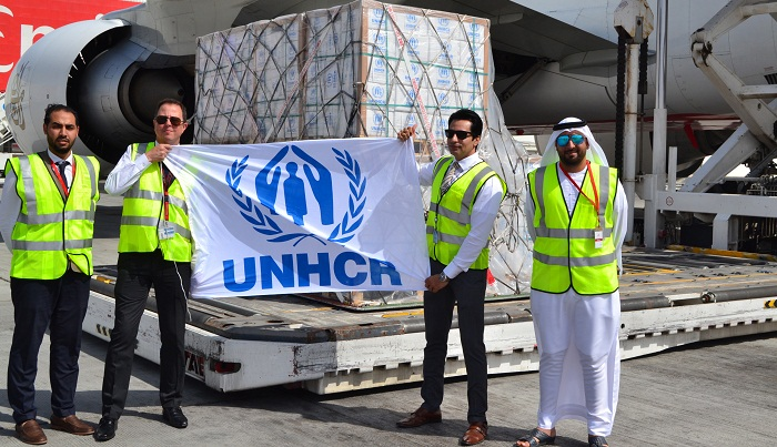 2 UNHCR aircraft arrive with relief materials