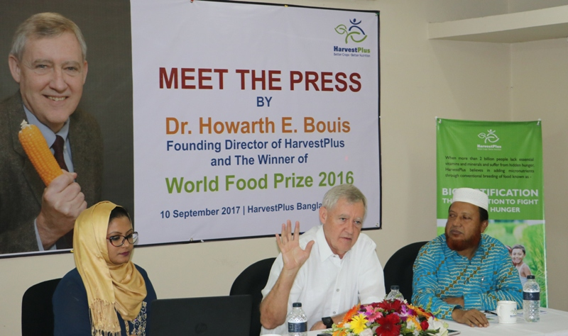 HarvestPlus delivering biofortified High Zinc Rice in Bangladesh