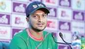 Shakib clears his position