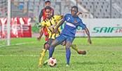 Saif Sporting hold Sheikh Jamal