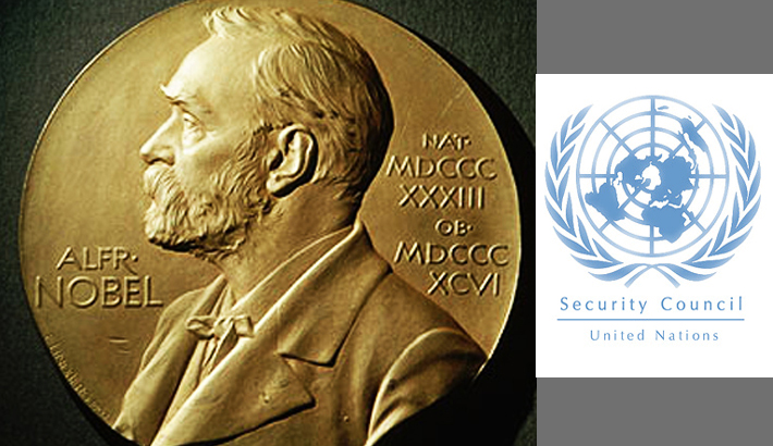 12 Nobel laureates seek UNSC hand