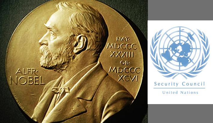 12 Nobel laureates seek UNSC hand