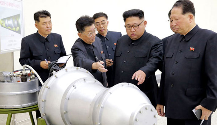 N Korea vows to boost weapons programmes despite sanctions