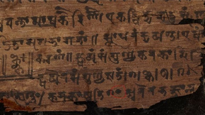 Carbon dating reveals earliest origins of zero symbol