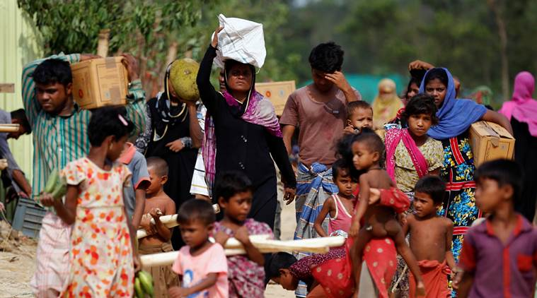 India relief items for Rohingyas reach Chittagong