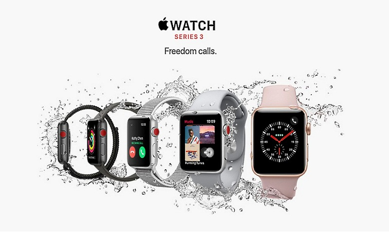Apple Watch Series 3 with eSIM, voice calling and LTE connectivity launched