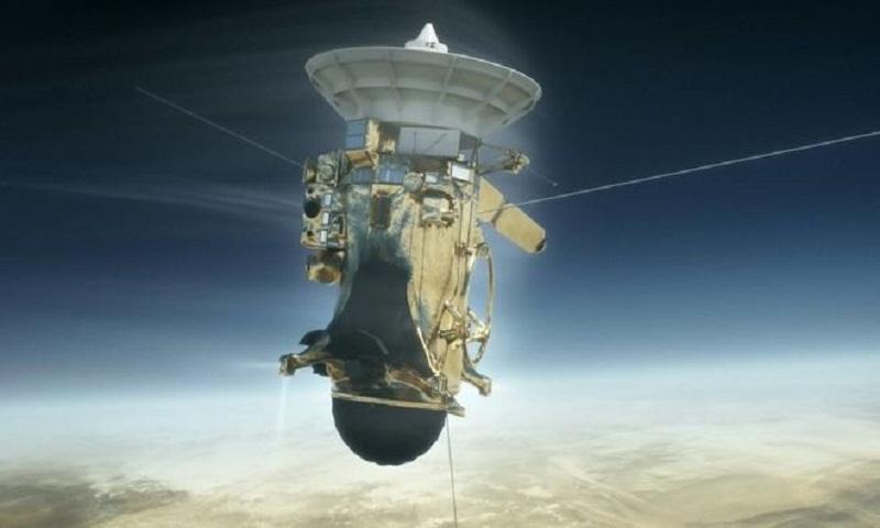 Saturn probe heads towards destruction