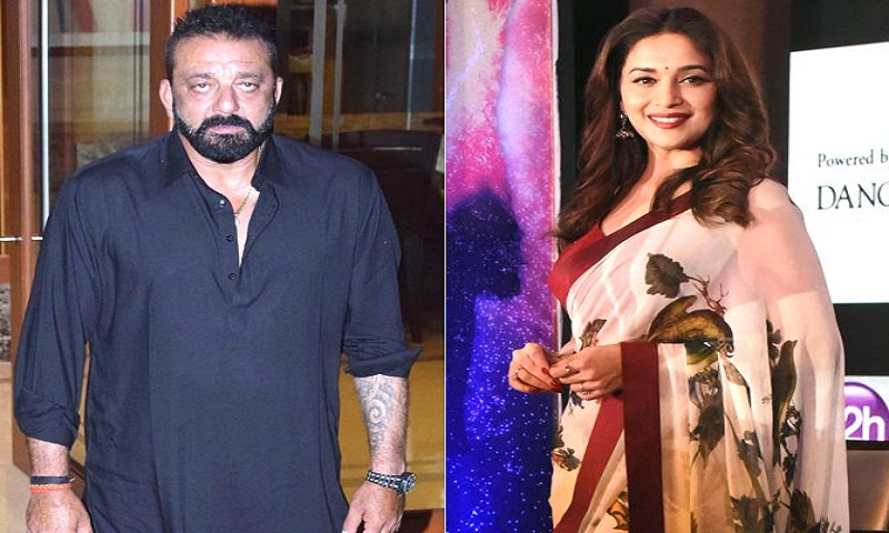 Sanjay Dutt was scared to perform with Madhuri Dixit because 'he danced like a crow'