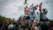 Three killed in Rohingya refugee camp stampede