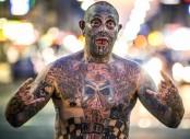 Tattoo addict inks his penis to treat pain