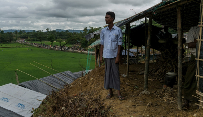 14,000 shelters to be built for Rohingya