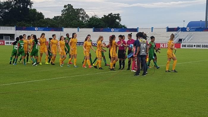 Bangladesh U-16 women concede 2-3 defeat against Australia