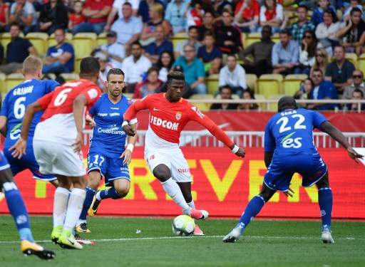 Monaco rebounds by beating Strasbourg 3-0 in French league