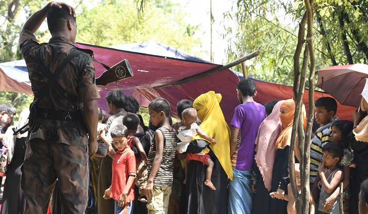 27 check-posts to prevent Rohingya spread across the country