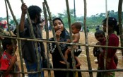 13,686 Rohingya children get rubella, polio vaccines on 1st day