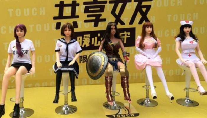 Chinese sex doll rental service suspended amid controversy