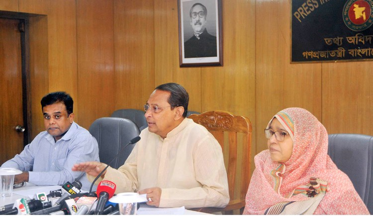 Prime Minister doing her best for Rohingyas, BNP undermining it: Inu