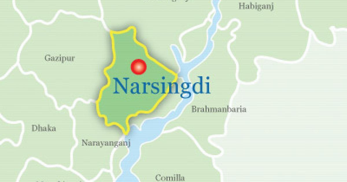Gunmen fire shots piercing Bangabadhu's image in Narsingdi