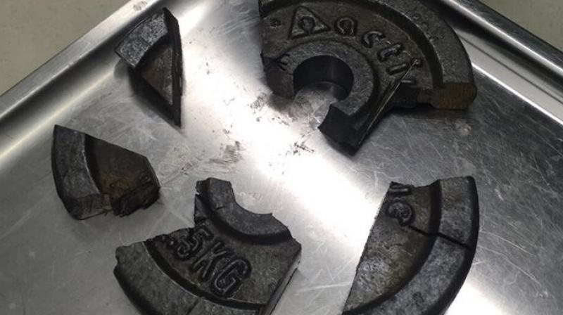 German man's penis stuck in weight plate freed after 3-hour-long operation