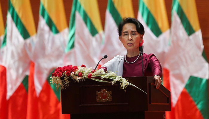 Suu Kyi vows to repatriate 'verified' refugees