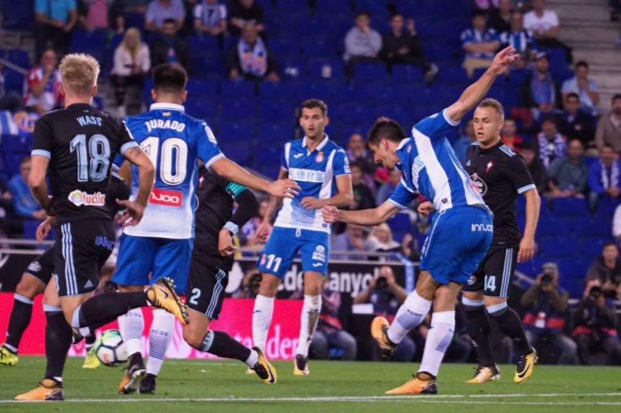 Espanyol beats Celta Vigo 2-1 to snap winless La Liga streak