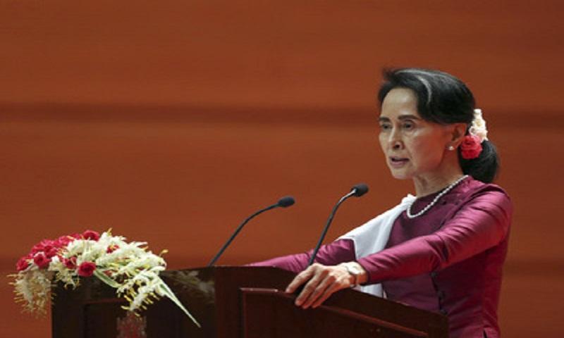 Rohingya crisis: Suu Kyi condemns human rights violations