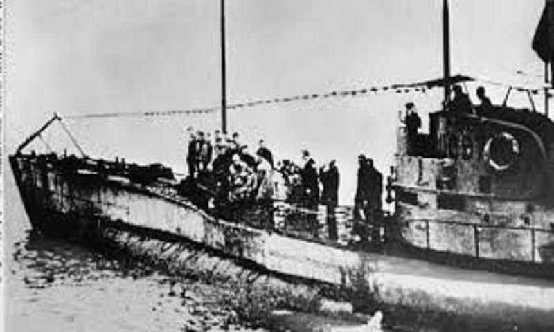German World War I submarine found with 23 bodies inside