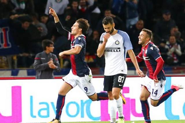 Inter's perfect start ends with 1-1 draw at Bologna
