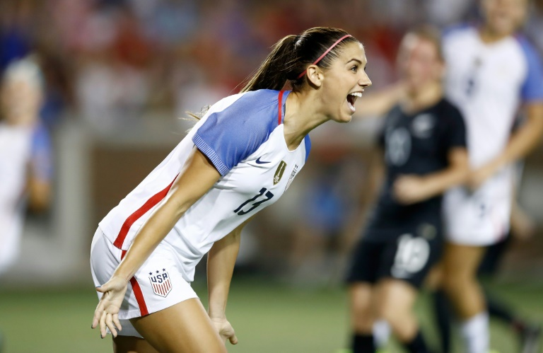 Morgan scores twice as US women beat New Zealand 5-0