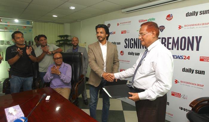 Rangpur Riders partners EWMGL for media coverage