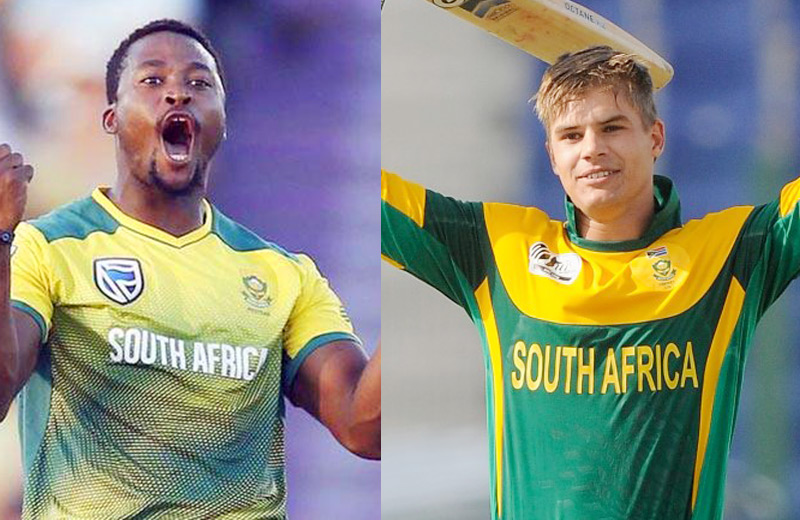 Two new faces in Proteas squad against Bangladesh