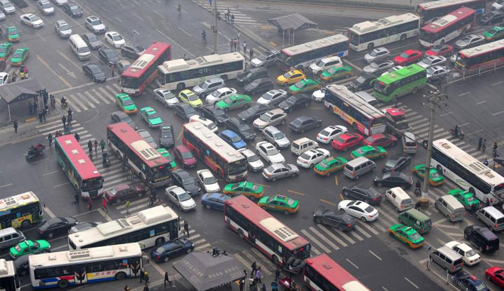 'Use public transports to cut traffic jam, pollution'
