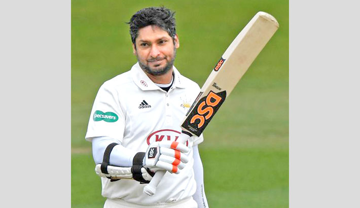 TON-MACHINE SANGAKKARA HITS EIGHTH CENTURY