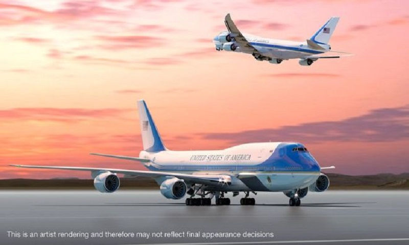 Trump supersizes America's most famous aeroplane