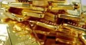 Gold price opens lower in Hong Kong