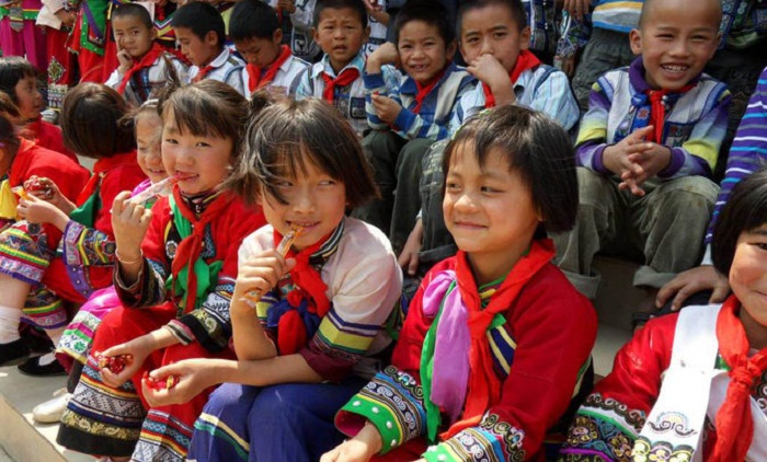 Children refresh Dhaka-Beijing friendship with heavenly smiles