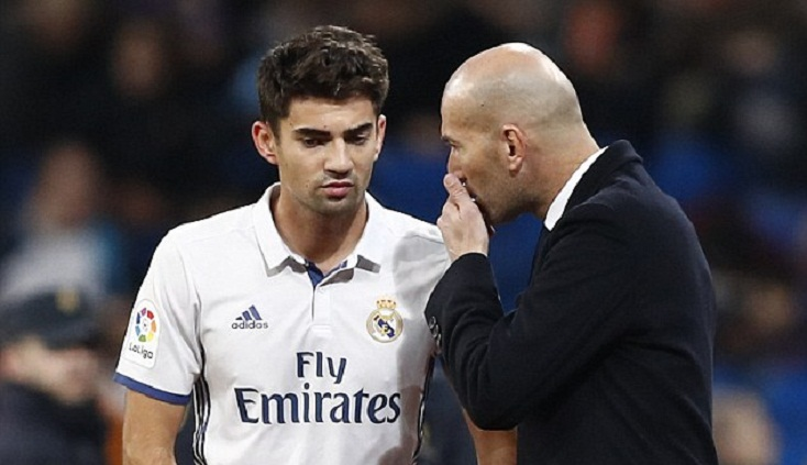 Real boss Zidane takes decision against son Enzo
